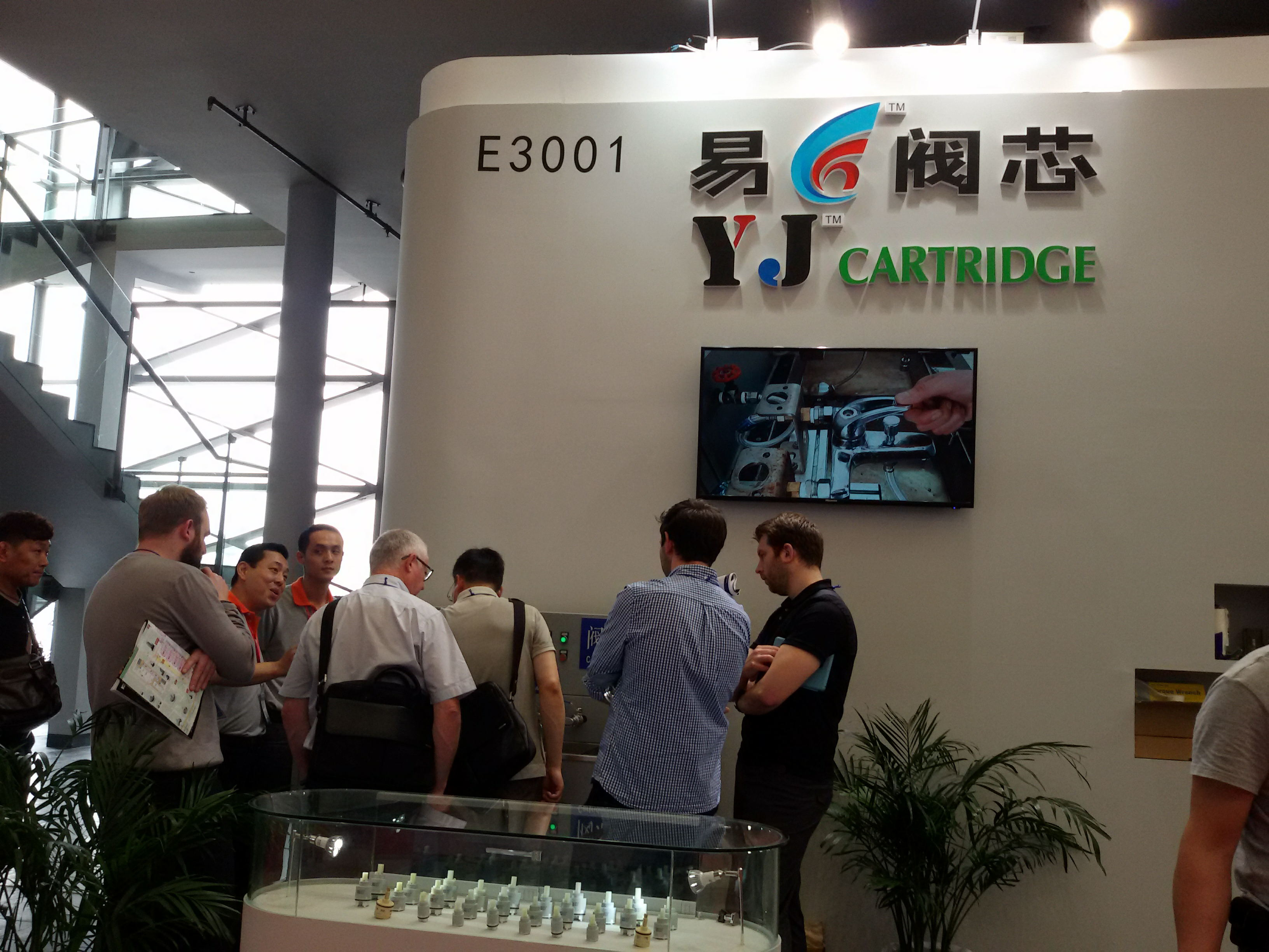 Shanghai Expo Kitchen And Bath 2015 Shanghai Yj Cartridge Co Ltd